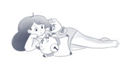 Official Art - Bee Playing With PuppyCat