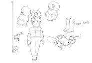 Bee and PuppyCat Lazy in Space Bee Concept Art 2