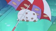 Part 1 puppycat under umbrella