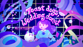 Toast Dogs Wedding Donut