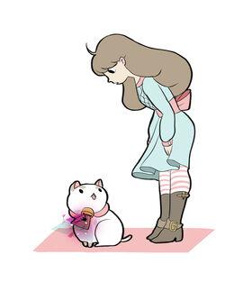Tumblr puppycat has mail