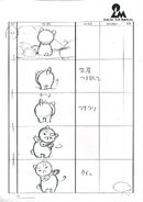 Bee and PuppyCat Lazy in Space PuppyCat Storyboarding