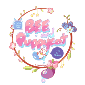 Official Logo for Bee and PuppyCat- Lazy in Space