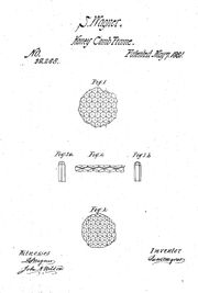 US patent 32258 of S.Wagner - 17 May 1861