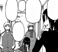Misaki Invites Oga's Friends In