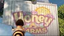 Honey Farms sign