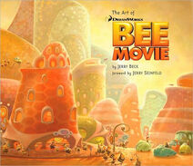 The Art of Bee Movie cover