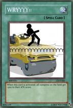 Wryyy the yugioh card