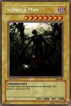Slender man card