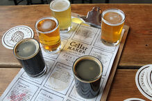 CellarmakerBrewing Tasting Board