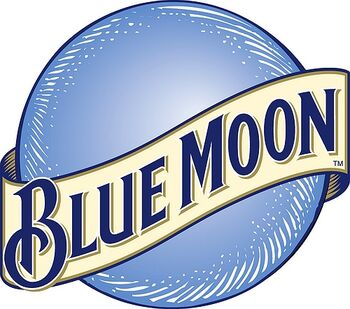 """""""Brewed with white wheat and oats, Blue Moon features a crisp wheat finish and the perfect combination of orange peel and coriander. Bring out Blue Moon's natural spices by serving it in a Pilsner glass with an orange-slice garnish."""""""
