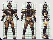 Chromium Gold Borg