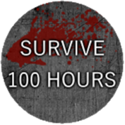 Survive 100 Consecutive Hours Badge 4