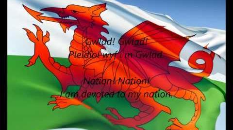 Video - Welsh National Anthem -