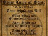 Seven Laws of Magic