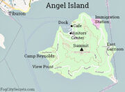 Angel Island Map