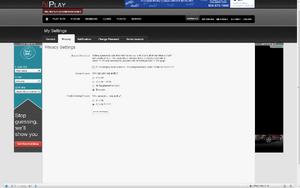 NPlay Privacy Settings