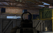 M4A1 Reflex Sight