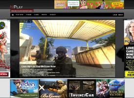 Nplay homepage