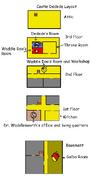 Castle dedede layout (chapter 1)
