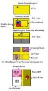 Castle dedede layout (chapters 7 to 10)