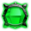 Green Bomb Gem