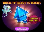 Rock-it Blast Return Ad