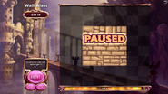 Wall Blast Paused