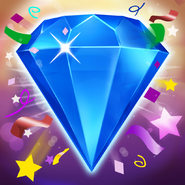 Bejeweled Blitz Square Icon (Birthday)