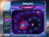 Puzzle Mode Galaxy Map