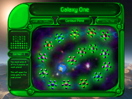 Puzzle Mode Galaxy Map GREENSCREEN