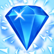 Bejeweled Blitz Square Icon (Ice)
