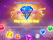 Bejeweled Blitz Promo ad on Bejeweled