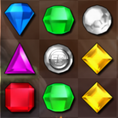 Coin Gem- Bejeweled Blitz PC (Offline)