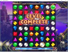Bejeweled 3 Level Complete