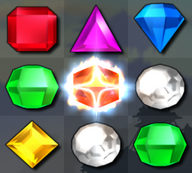 Bejeweled 3 Supernova Gem