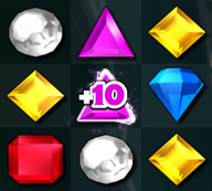 Bejeweled 3 Time Gem +10