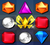 Bejeweled 3 Yellow Butterfly