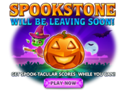 Spookstone is leaving soon promotion