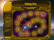Puzzle Mode Galaxy Map AMBERSCREEN