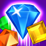 Bejeweled Blitz Square Icon (Gem)
