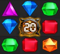 Bejeweled Twist Bomb Gem