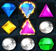 Flame Gem- Bejeweled 3
