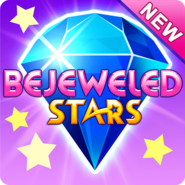 Bejeweled Stars Newer Square Icon (Purple)