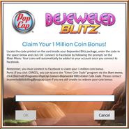 Bejeweled Blitz 1 Million Coins