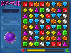 Bejeweled Time Trial Mode Level 1