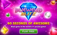Bejeweled Blitz PvZ Ad