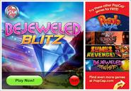 Bejeweled Blitz Setup Menu