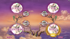 Bejeweled 3 Game Menu Complete