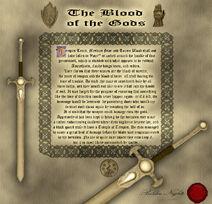 Blood scroll
